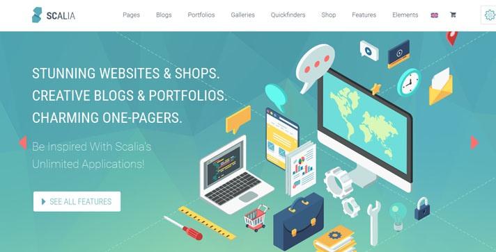 scalia Wordpress theme