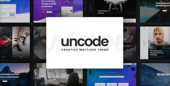 uncode theme