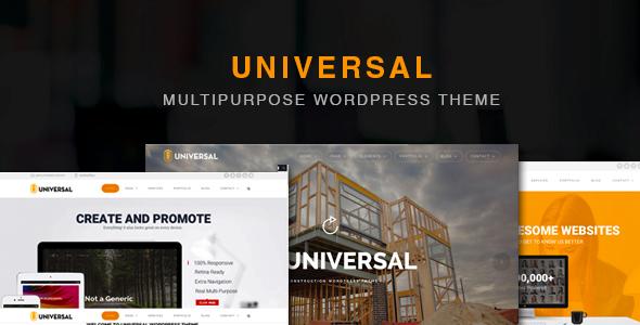universal wordpress theme