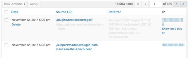 Plugin for wordpress redirection