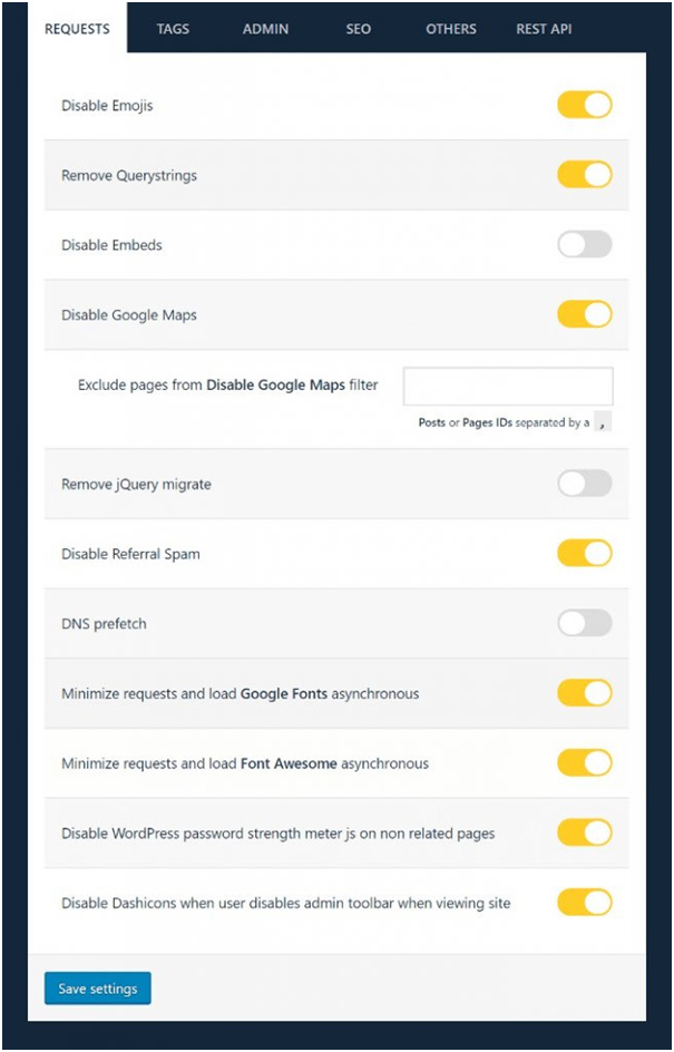 WordPress Admin Dashboard