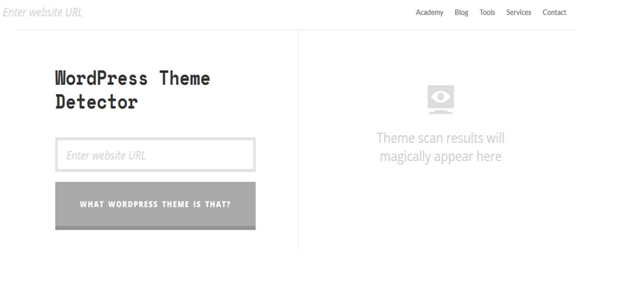 WordPress Themes Detector