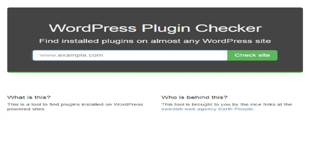 WordPress plugins Detector