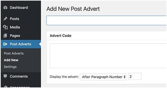 Post Advert