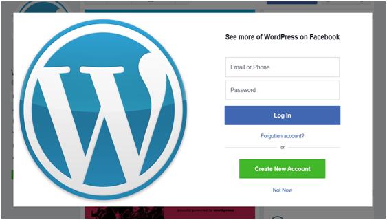 Wordpress facebook group