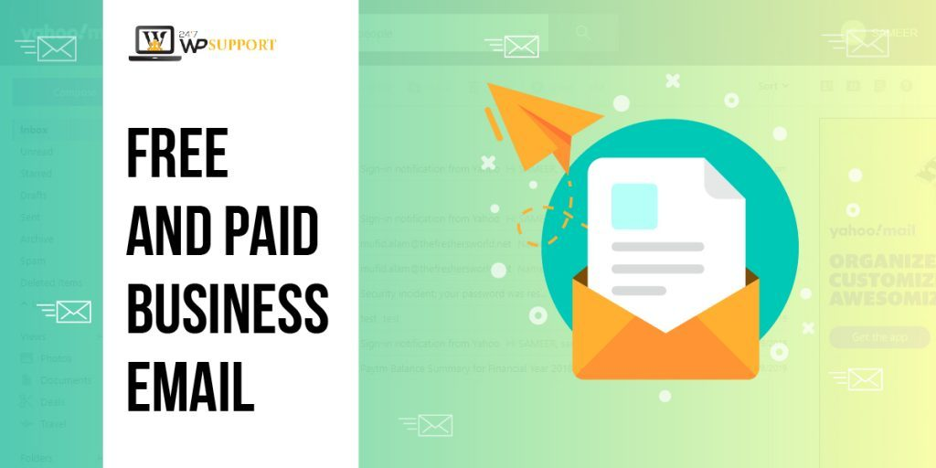 Free and Paid Business Email