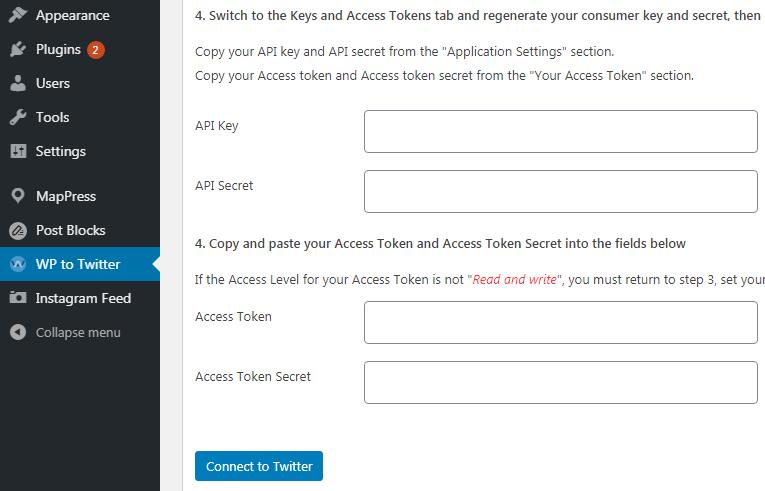 Twitter Access Key