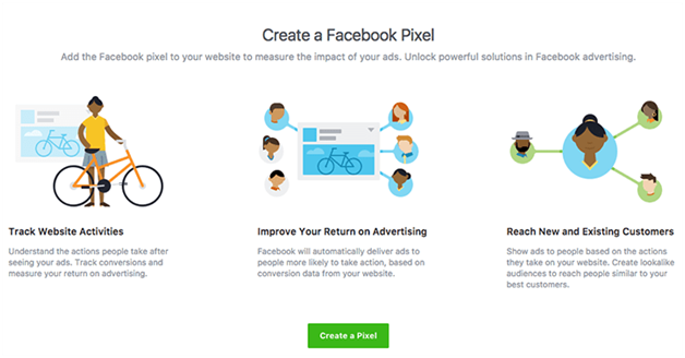 create facebook Pixel