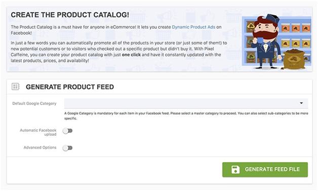create product catalog