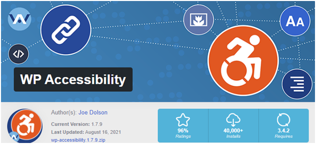 Improve WordPress Accessibility