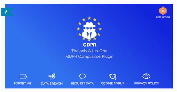 GDPR Compliance plugin