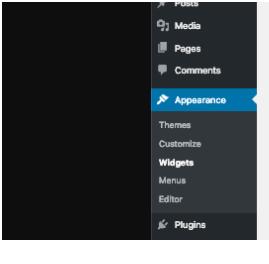 Edit a Footer in WordPress