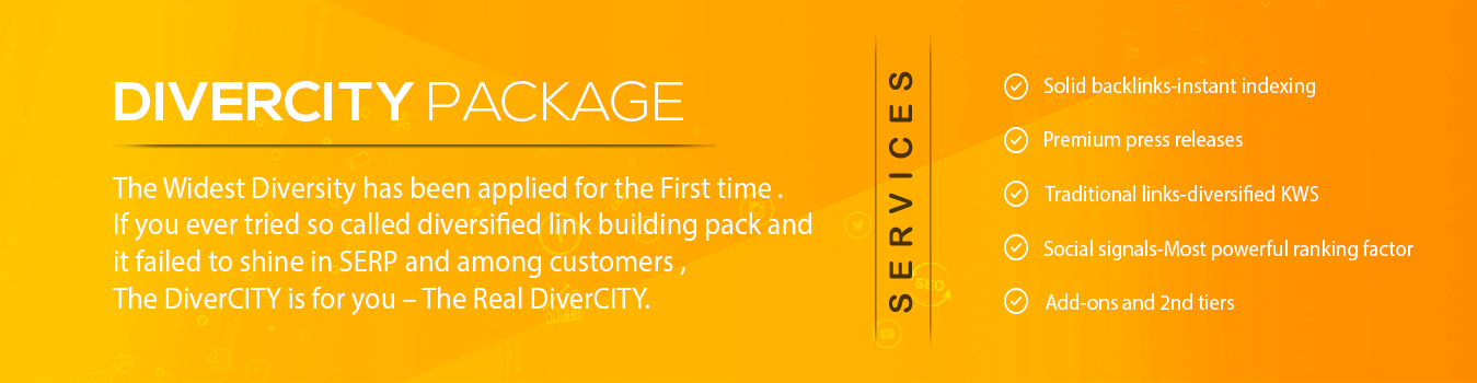 Divercity Package