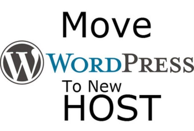 move wordpress blog to new host