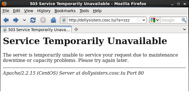 503-temporarily unavailable firefox