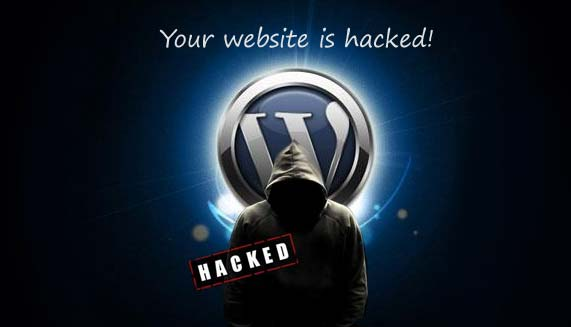 wordpress website hacked error